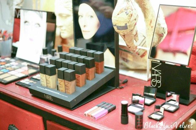 Blackhairvelvet Glossy box Glossy teatime NARS