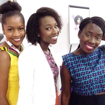 Mes soeurs Adia (Ma Coquetterie) et Diabou (chaîne YouTube Urban Bloc)